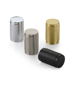 Cylindric Knurled Cabinet Knob