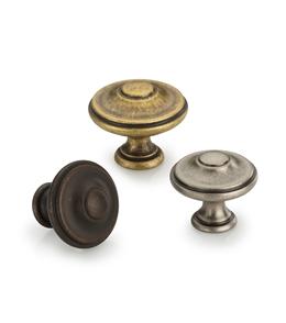 Domed Round Knob