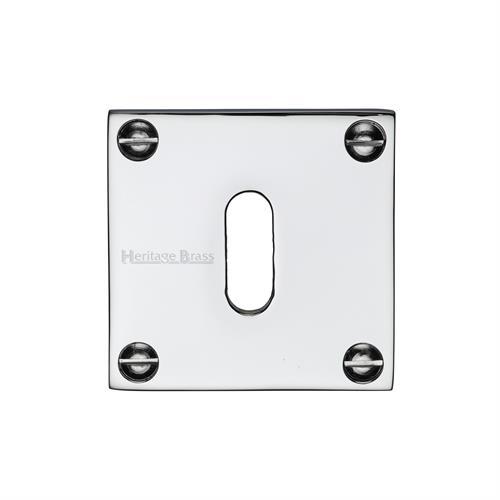 Standard Key Escutcheon Square - BAU1556
