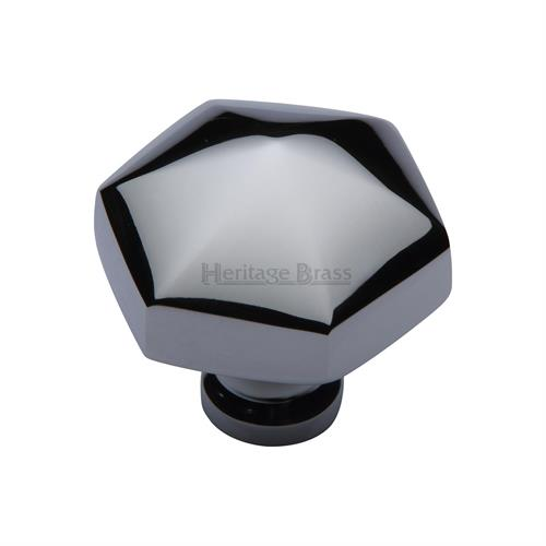 Classic Hexagon Cabinet Knob