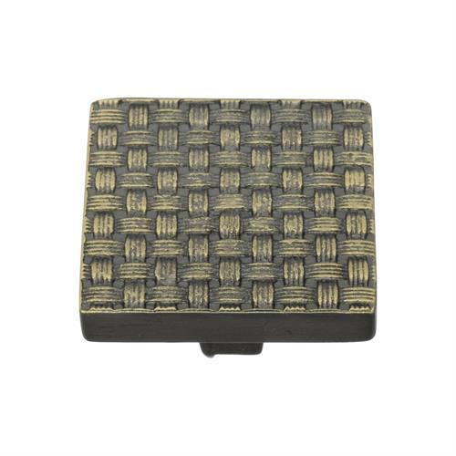 Square Weave Cabinet Knob