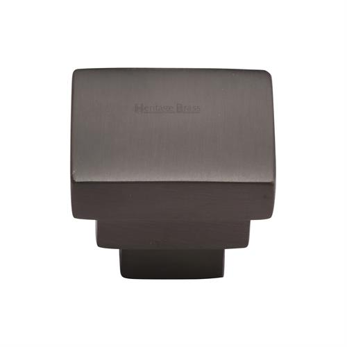 Square Stepped Cabinet Knob