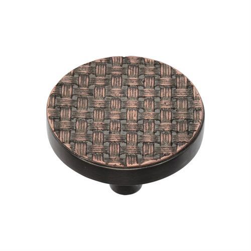 Round Weave Cabinet Knob