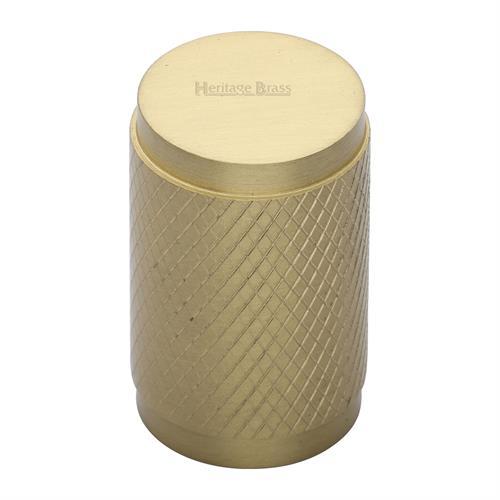 Cylindric Knurled Cabinet Knob
