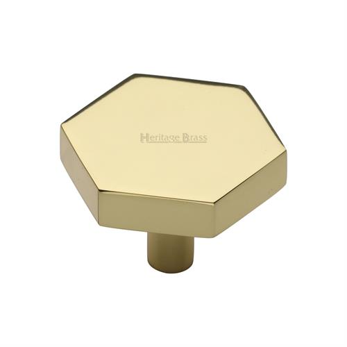 Hexagon Cabinet Knob