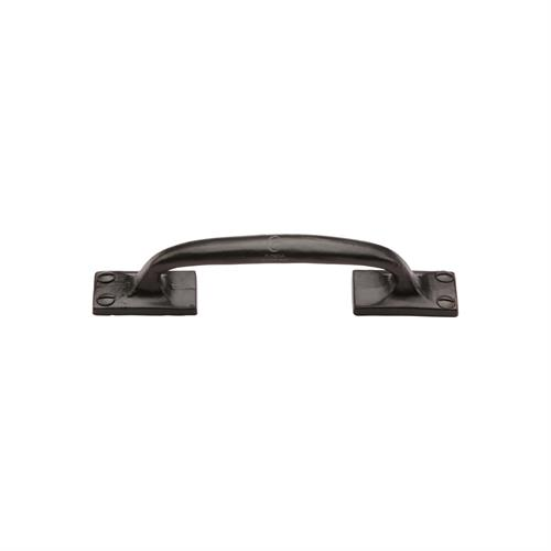 Black Iron Offset Cabinet Pull Handle