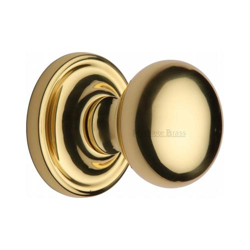 Hampstead Door Knob on Rose
