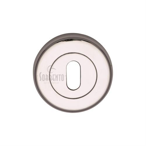Sorrento Standard Key Escutcheon Round