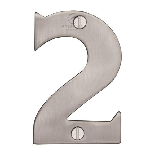 Steel Line Numeral 2