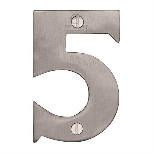 Steel Line Numeral 5