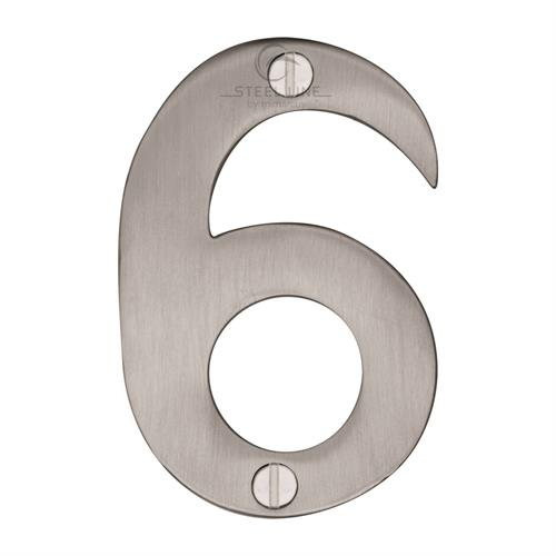 Steel Line Numeral 6