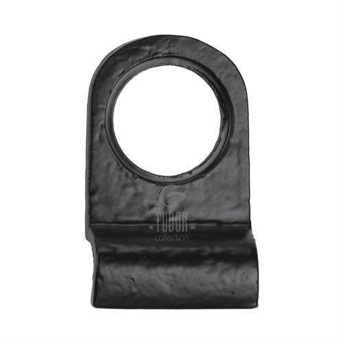 Tudor Cylinder Pull Black Iron