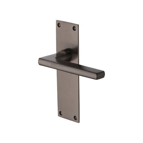 Trident Door Handle on Plate