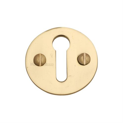 Standard Key Escutcheon Round - V1010