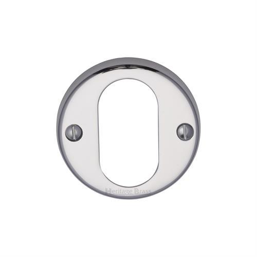 Oval Profile Cylinder Escutcheon Round - V1013
