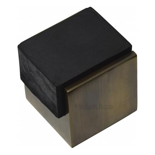 Square Floor Mounted Door Stop - V1082