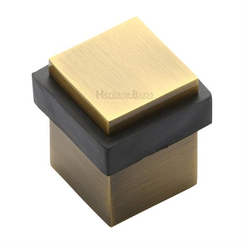 Square Floor Mounted Door Stop - V1089