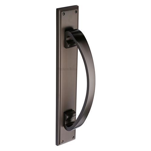 Door Pull Handle on Back Plate