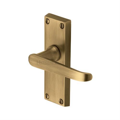 Victoria Short Door Handle on Plate