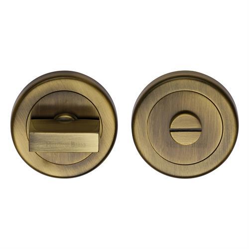 Round Bathroom Turn & Release - V4035