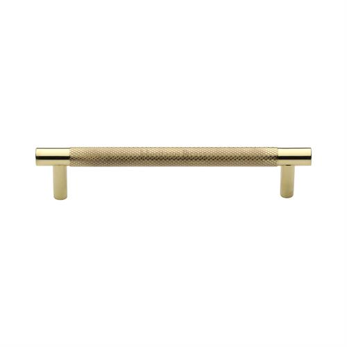 Partial Knurled Cabinet Pull Handle