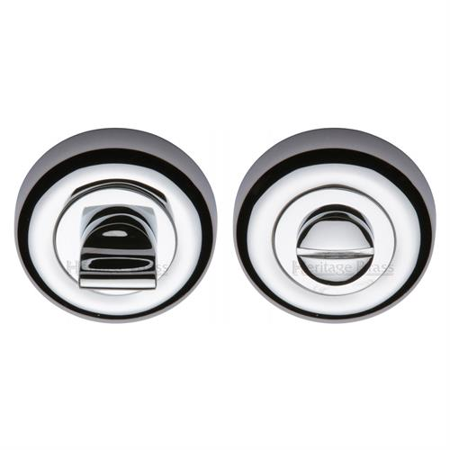 Round Bathroom Turn & Release - V6720
