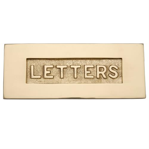 Embossed Letterplate