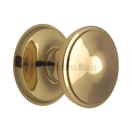 Round Centre Door Knob