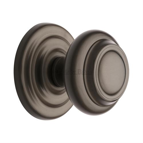 Stepped Round Centre Door Knob