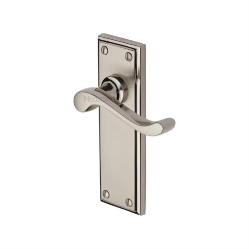 Edwardian Door Handle on Plate