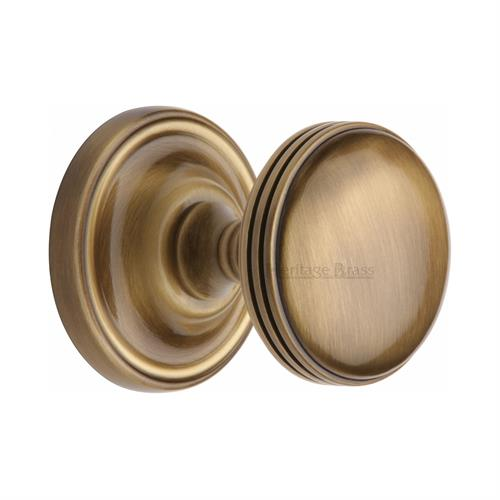 Whitehall Door Knob on Rose