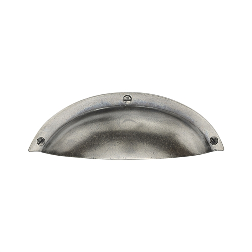 Pewter Elongated Cabinet Drawer Pull